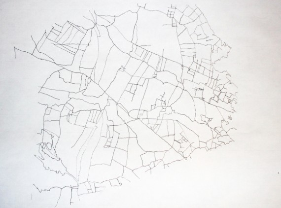 Donald Ink on handmade paper